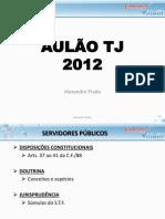 AULÃO CONSTITUCIONAL E D. ADMINISTRATIVO TJ 2012
