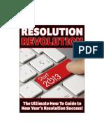 Resolution Revolution