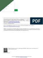 Abeysekera Mahajan 90 Internation Arbitrage Pricing Theory an Empirical Investigation