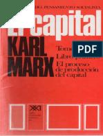 Karl Marx_El Capital_Tomo I_Vol 2