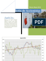 Comportamiento de la Acción de Apple