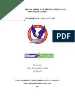 Referat Laringofaringeal Reflux (LPR)