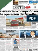 Periódico Norte de Ciudad Juárez edición impresa del 15 abril del 2014