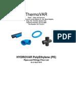 HydroVar HDPE.xls Final