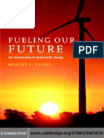 Fueling Our Future an Introduction to Sustainable Energy