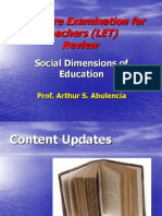 Socio-Anthro Foundations of Education