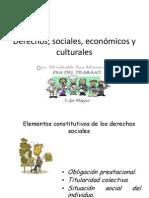 Derechos, sociales, econ¾micos y culturales