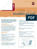 Allan block Installation Guide