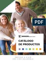 Nikken Catálogo de productos