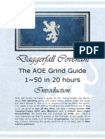 Daggerfall Covenant Leveling Guide