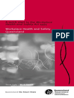 Workplace Health & Safety Act - Quick Start Guide