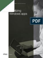 Citrix Mobilizing Windows Apps Design Guide
