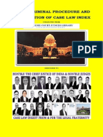 Indian Criminal Procedure and Compiliation of Case Law Index