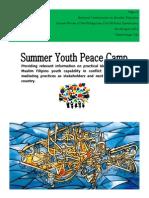 Report Zamboanga Peace Camp