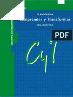 Comprender y Transformar. gUÍA DIDÁCTICA