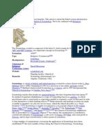 Wikipedia-Artikel Scientology Englische Version