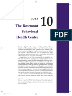 Rosemont Behavorial Health Center Case