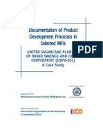 Documentation of Product Devt USPD