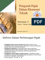 Ekonomi teknik pertemuan 11