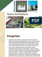 studi banding Green Architecture