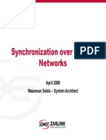 Synchronization over Packet Networks