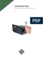 i3PROJECTOR Wi Plus Manual DE