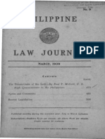 PLJ Volume 18 Number 9 Table of Contents
