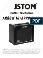 Arrow16-16r Owners Manual 11oct05