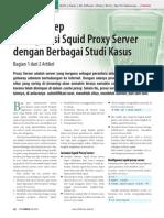 Step by Step Konfigurasi Squid Server Dari Berbagai Kasus