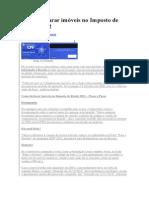 Como declarar imóveis no Imposto de Renda 2012