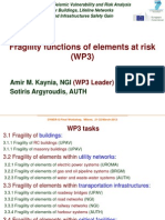 Wp3_Fragility Functions of Elements at Risk