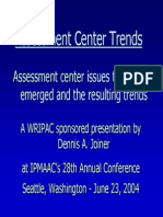 Assessment Centre Trends