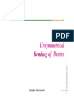 Unsymmetric Beams