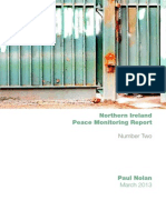 CRC NI Peace Monitoring Report 2013