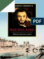 Cambridge Companion to Baudelaire