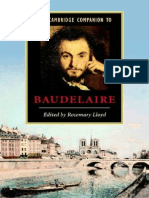 Cambridge Companion to Baudelaire