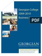 Georgian College Business Plan 2009/10