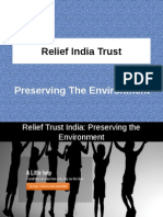 Relief Trust India Preserving the Environment