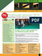 Seminars Brochure 2014