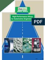 Alloys for Automotive