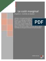 C2 - Le coût marginal