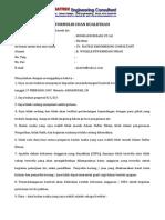 Surat Isian Daftar Kualifikasi