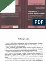 Jurisprudenţa CEDO în cauzele împotriva României - B.Ramaşcanu - 2009
