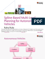 Multi-Level Planning for Semi-Autonomous Vehicles in Traffic Scenarios based on Separation Maximization