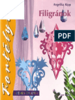 Filigranok carte Nr. 33 Angelika Kipp