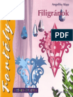 Filigranok carte Nr. 33 Angelika Kipp
