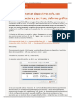 Automontar Dispositivos Ntfs Con Permisos de Lectura y Escritura