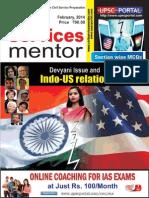 Civil Services Mentor February 2014 Www.upscportal.com