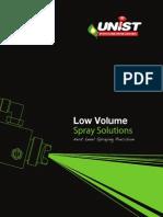 Unist Low Volume Spray Solutions