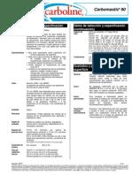 Carbomastic 90 PDS 8-12 ES-LA (Autoimprimante)
